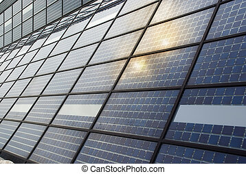 Nordic Solar Power Station - Solar small power station at...
