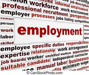 Employment creative design