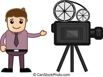 Cameraman - Business Career Choice