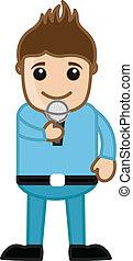 Singer - Career Choice Cartoon