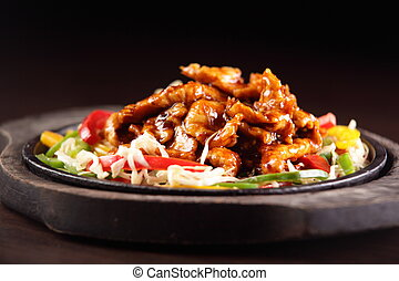 tasty and hot chinese food - fresh tasty and colorful...
