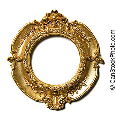 Art Nouveau gold Picture Frame - Art Nouveau gold vintage...