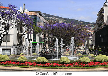 Fountain in Funchal, Madeira