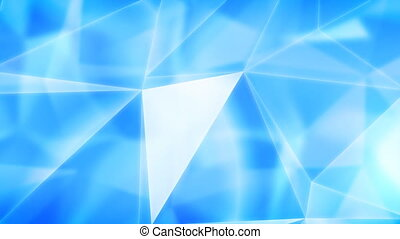 Blue abstract background Loop HD 1080