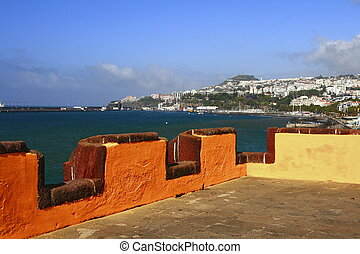 Funchal is the capital of Madeira Island