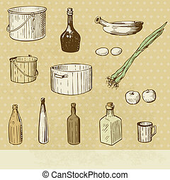 Clipart. 25,191 Kitchen tools royalty free illustrations, and drawings ...