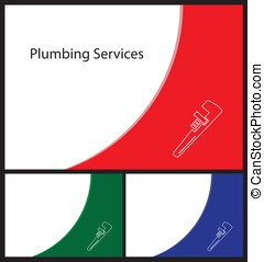 business card plumber and handymen