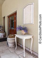 Mediterranean interior - front door - Mediterranean interior...