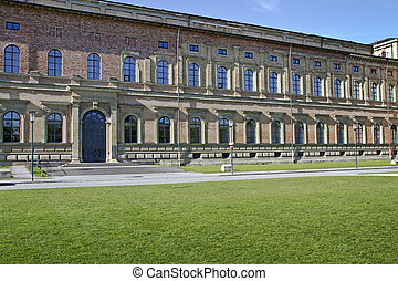 quot;Alte Pinakothekquot; Museum in Munich, Bavaria, Germany...