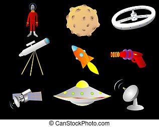 Space things - Objects with a space or science fiction theme...