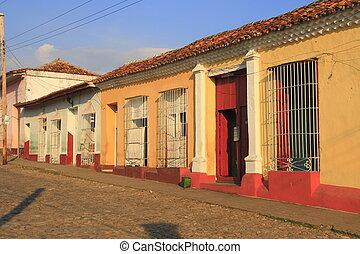 Trinidad - Old, colorful houses in Trinidad, Cuba