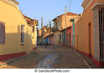 Trinidad - Old, colorful houses in Trinidad, Cuba