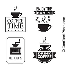 coffe design - coffee design over white background vector...