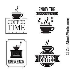 coffe design - coffee design over white background vector...