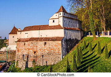 Brasov old fortification tower-Weavers bastion - Weavers...