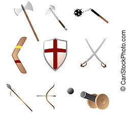 Medival and primitave weapons - various medival and ancient...
