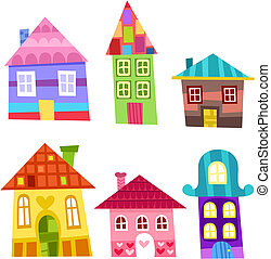 houses - vector houses