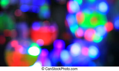 Party lights. Loopable - Colorful party lights