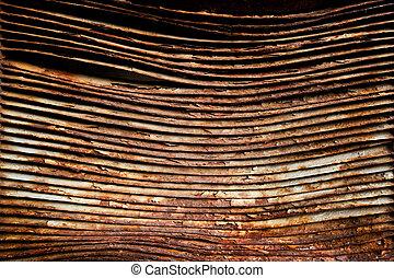 Rusted Grate Background - A rusted grate background image