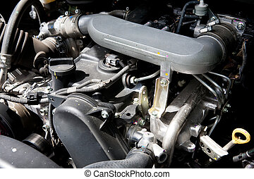 Engine Detail - A diesel engine detail