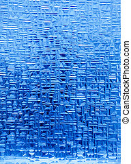 Ice Crystal Background - A background texture of blue ice...