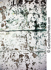 Weathered Wall - An old wall texture, grunge white paint