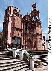 church Templo de Pardlo in Guanajuato, Mexico