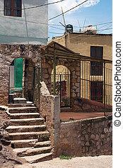 colonial architecture of Guanajuato, Mexico