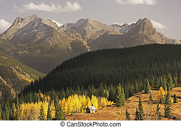 Molass pass, Rio Grande National Forest, Colorado, USA