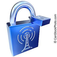 lock icons as symbol locked signals - lock icon for digital...