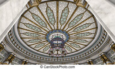 ceiling - dome type ceiling