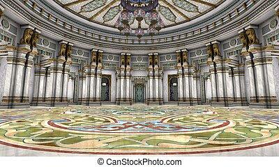 grand hall - image of grand hall