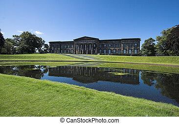 Escocês, nacional, galeria, modernos, arte
