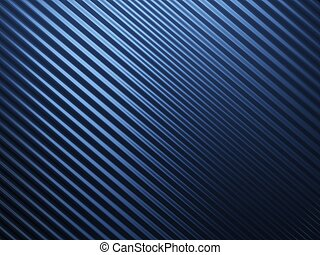 Blue abstract metal background with riffle texture
