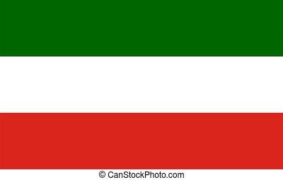 north rhine westphalia flag germany country region