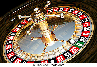 roulette - 3D illustration of roulette