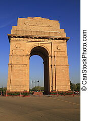 The India Gate situated in the heart of New Delhi is the...
