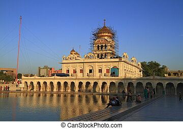 The Gurudwara Bangla Sahib is the most prominent Sikh...