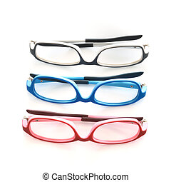 eye glasses - Eye glasses isolated on white background.