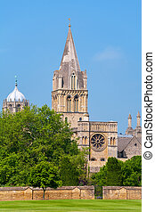Christ Church Cathedral. Oxford, UK - Cathedral at Christ...