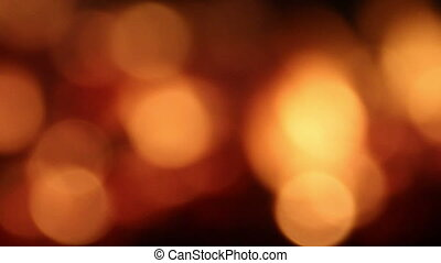 blurry fire lights background - abstract motion background...