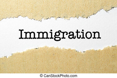 conceito, imigração