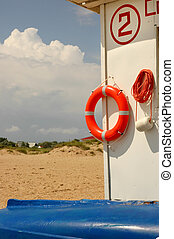 lifebelt, lifeboat, sea coast