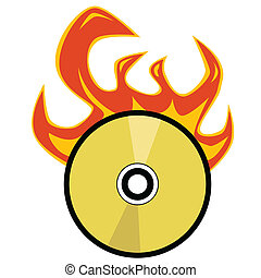 Cd burning