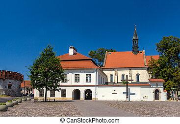 Church of St Giles in Krakow - Poland