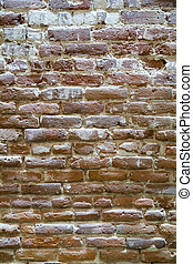 Weather Brick Interior Wall Texture Background