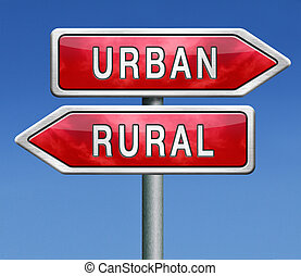 urban or rural urbanization regional planning