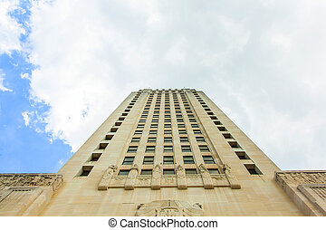 Baton Rouge, Louisiana - State Capitol building