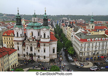 St. Nicholas Church in Prague, Czech Republic