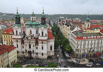 St Nicholas Church in Prague, Czech Republic